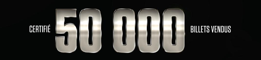 American Story Show Certifié 50 000 billets vendus 20-10-16